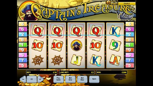 игровой автомат Captain's Treasure 4