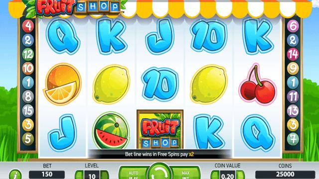 популярный слот Fruit Shop 1