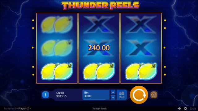 игровой автомат Thunder Reels 10