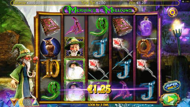 игровой автомат Merlin's Millions 3