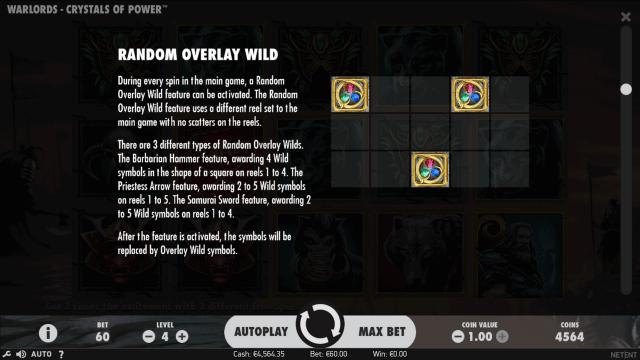 популярный слот Warlords - Crystals Of Power 7