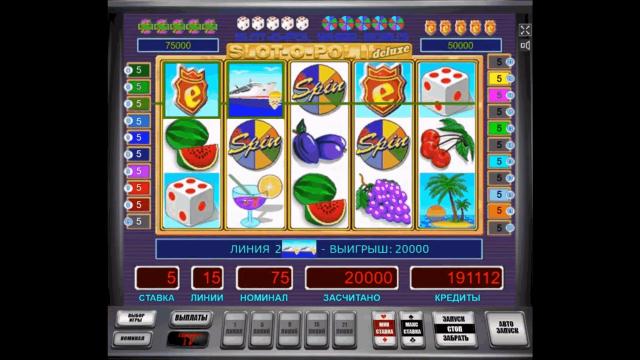 онлайн аппарат Slot-O-Pol Deluxe 6
