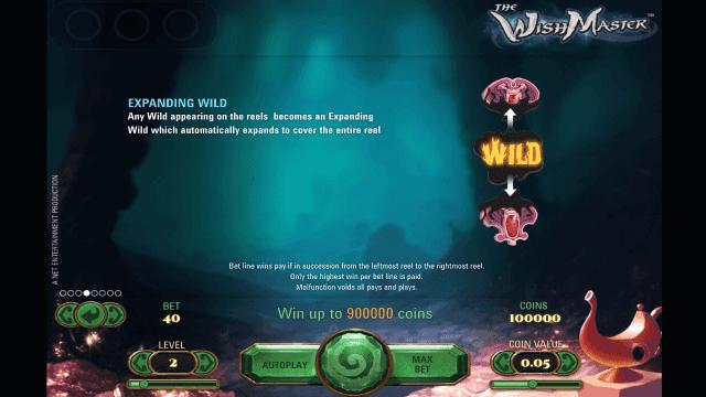 игровой автомат The Wish Master 5