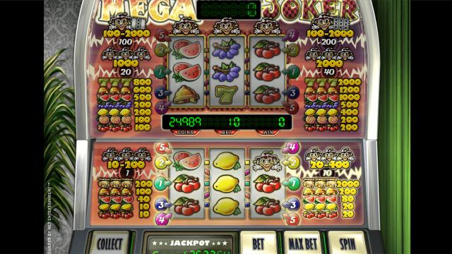 игровой автомат Mega Joker by Netent 1