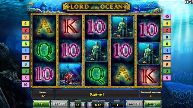 популярный слот Lord Of The Ocean 6