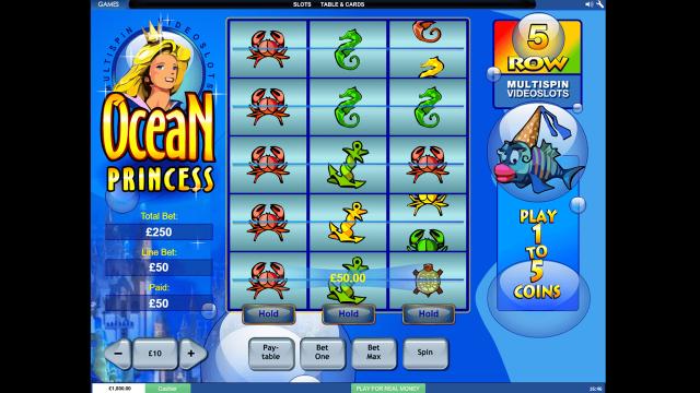 популярный слот Ocean Princess 10
