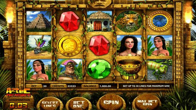 игровой автомат Aztec Treasures 3D 1