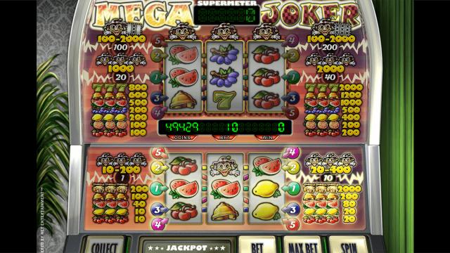 игровой автомат Mega Joker by Netent 10