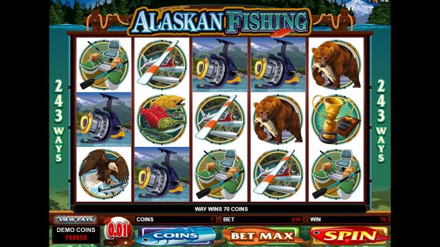 онлайн аппарат Alaskan Fishing 9