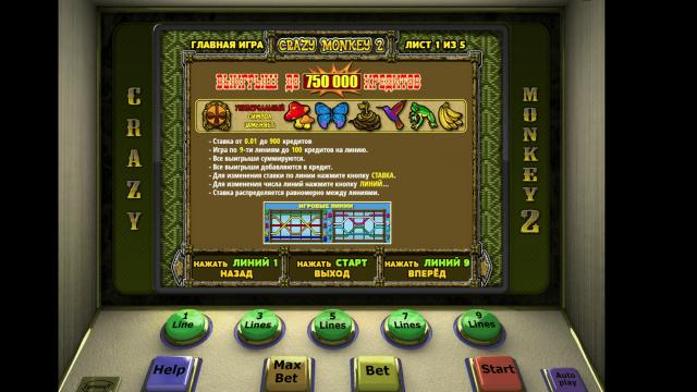 игровой автомат Crazy Monkey 2 1