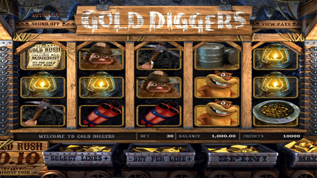 онлайн аппарат Gold Diggers 7