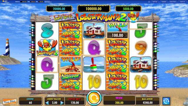игровой автомат Lucky Larry's Lobstermania 2 7
