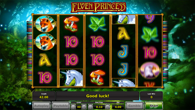 популярный слот Elven Princess 6