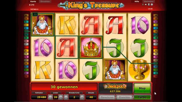 онлайн аппарат King's Treasure 9