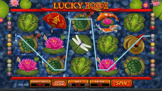 онлайн аппарат Lucky Koi 1