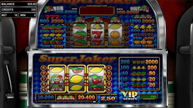 игровой автомат Super Joker VIP 10