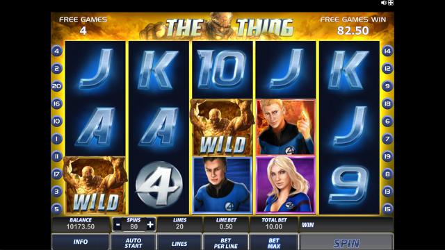 игровой автомат Fantastic Four 20