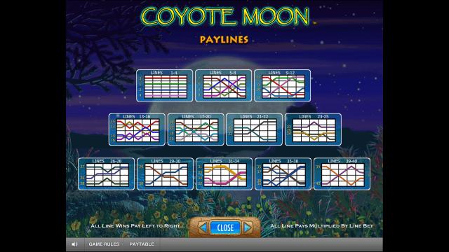 игровой автомат Coyote Moon 7
