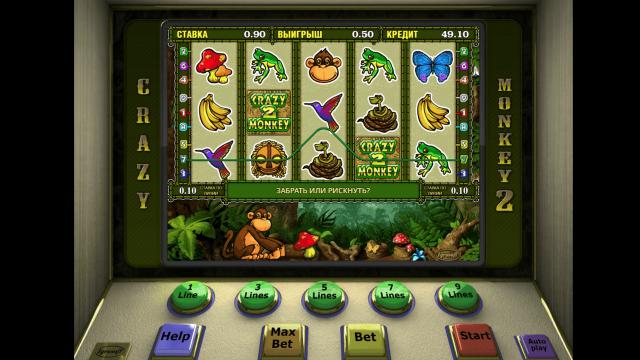игровой автомат Crazy Monkey 2 6