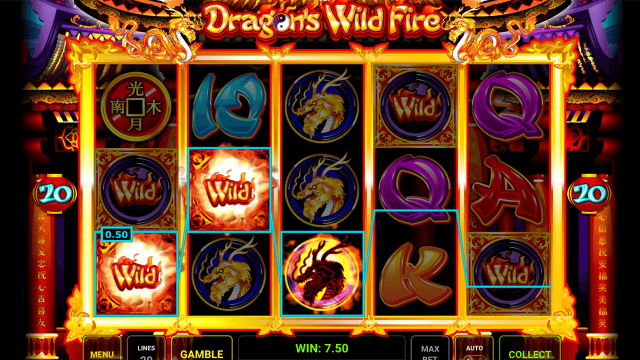 онлайн аппарат Dragon's Wild Fire 2