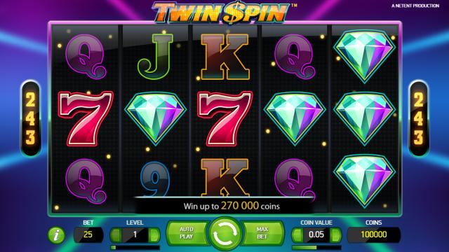 популярный слот Twin Spin 2