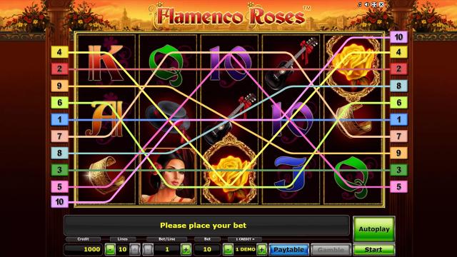 игровой автомат Flamenco Roses 1