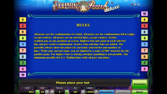 онлайн аппарат Dolphin's Pearl Deluxe 2