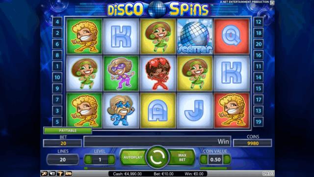 онлайн аппарат Disco Spins 1