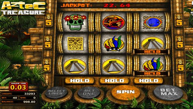 игровой автомат Aztec Treasure 2D 2