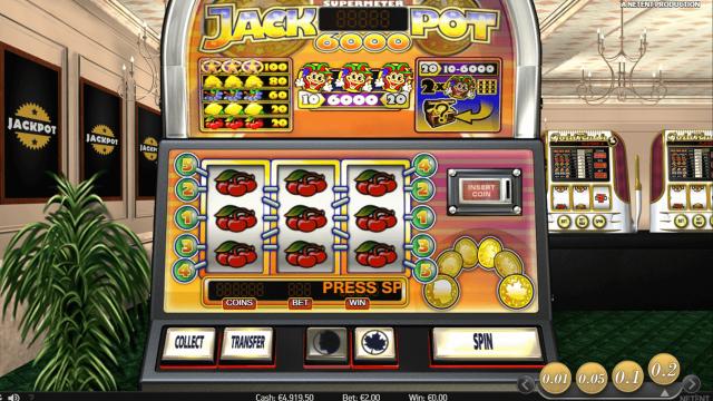 игровой автомат Jackpot 6000 8