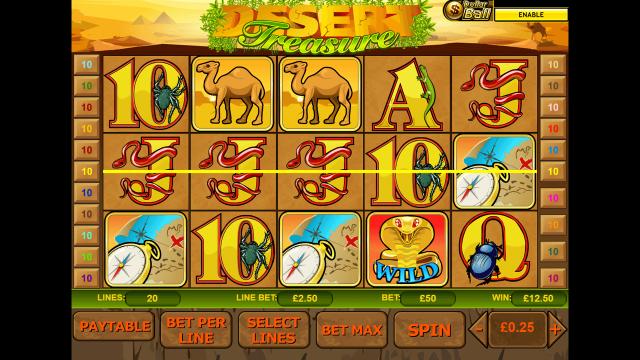 онлайн аппарат Desert Treasure 6