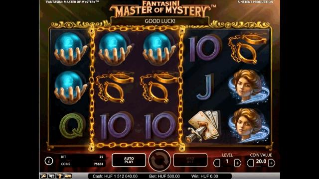 популярный слот Fantasini: Master Of Mystery 6