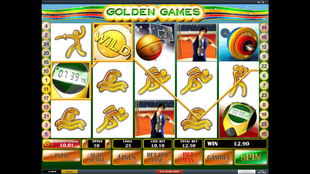 онлайн аппарат Golden Games 1