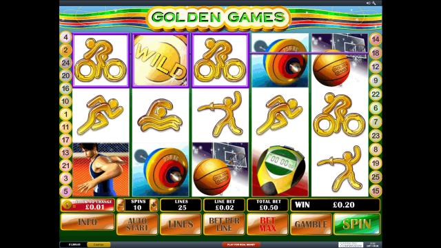 популярный слот Golden Games 4