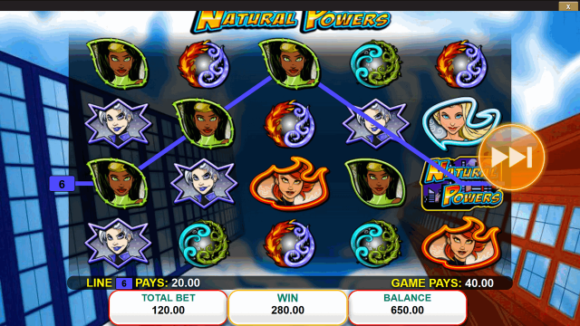 игровой автомат Natural Powers 4
