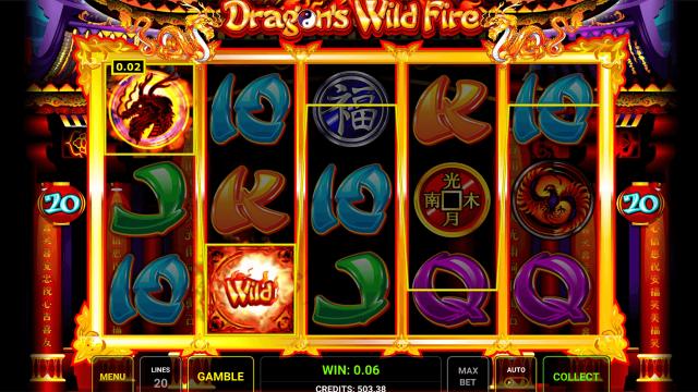 онлайн аппарат Dragon's Wild Fire 7