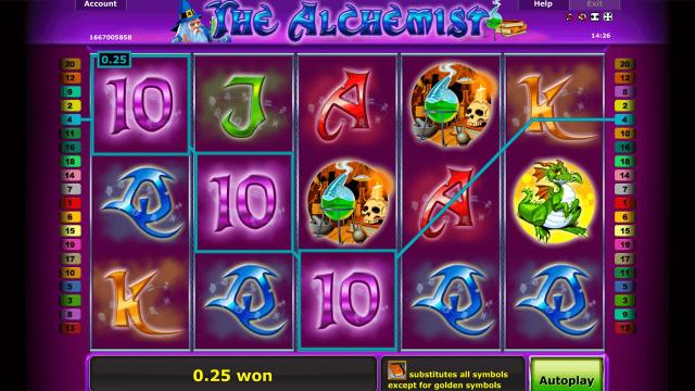 игровой автомат The Alchemist 2