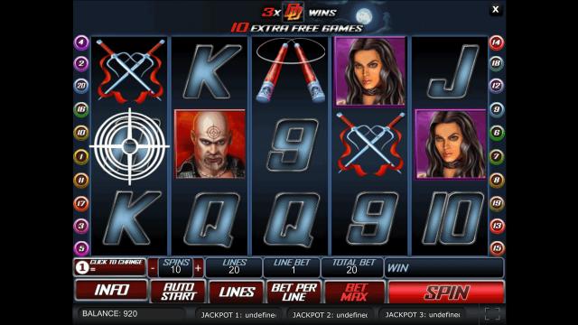 игровой автомат Daredevil 10