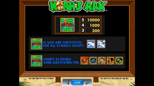 игровой автомат Noah's Ark 5