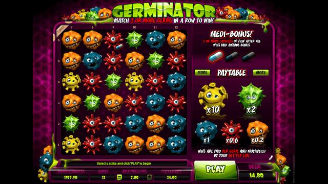 популярный слот Germinator 10