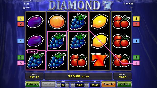 игровой автомат Diamond 7 9