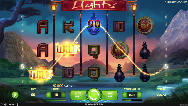 игровой автомат Lights 8
