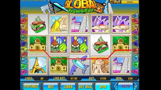 игровой автомат Global Traveler 6