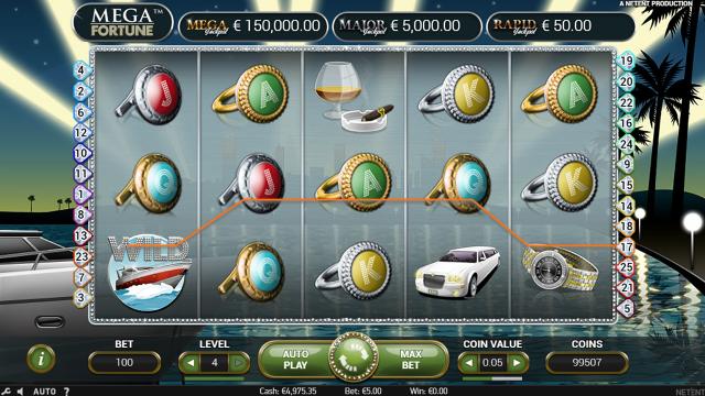 онлайн аппарат Mega Fortune 9