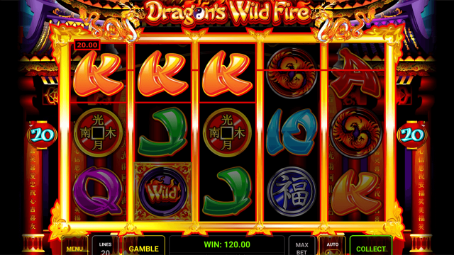 онлайн аппарат Dragon's Wild Fire 9