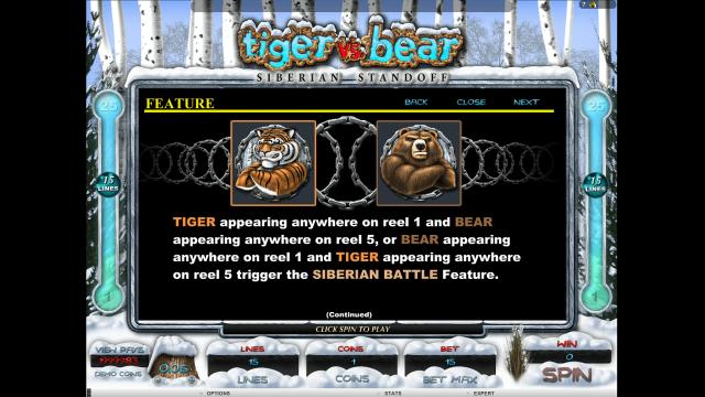 игровой автомат Tiger Vs Bear 6