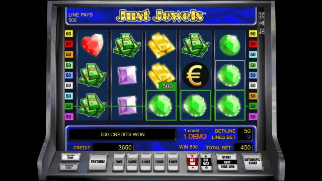игровой автомат Just Jewels 1