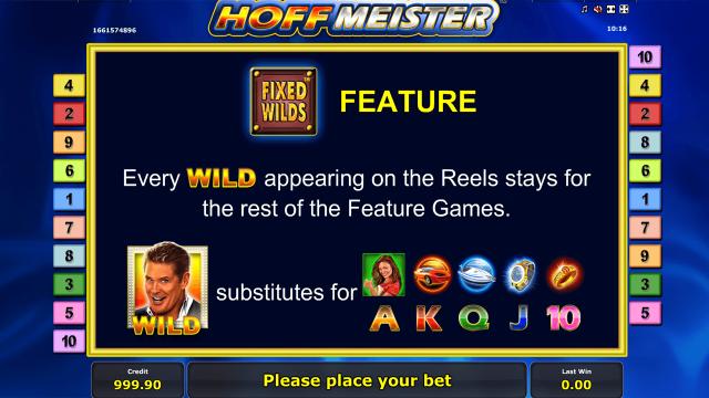 игровой автомат Hoffmeister 3