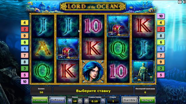 популярный слот Lord Of The Ocean 1