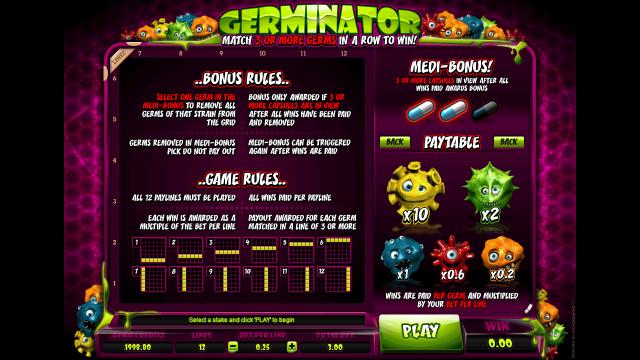 игровой автомат Germinator 5